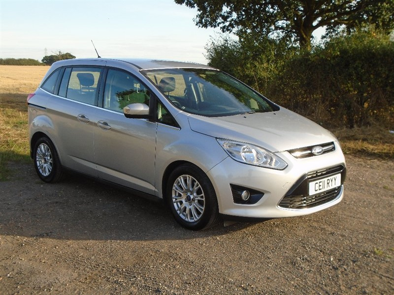 used Ford Grand C-Max TDCi Titanium Powershift 5dr (7 Seats) in wickham-bishops-essex