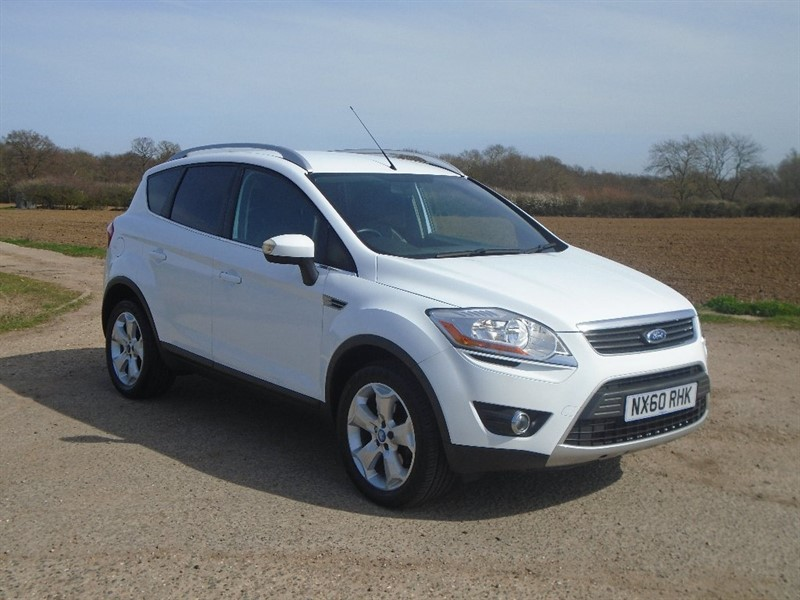 used Ford Kuga TDCi Zetec 5dr in wickham-bishops-essex