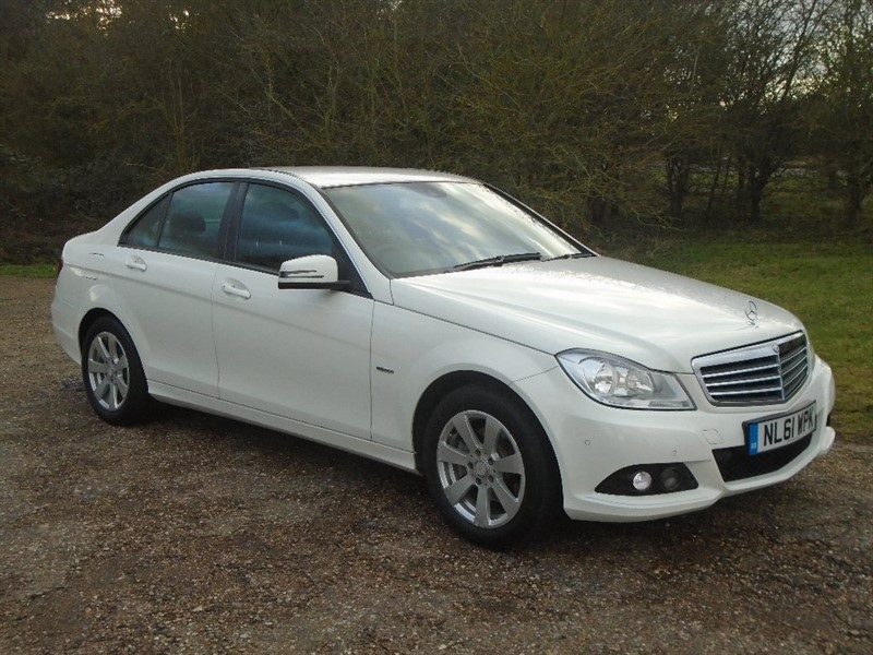 used Mercedes C220 C Class CDI SE Edition 125 4dr in wickham-bishops-essex