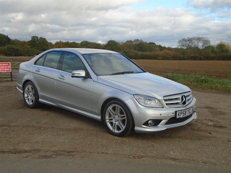 used Mercedes C220 C Class CDI Sport 4dr in wickham-bishops-essex