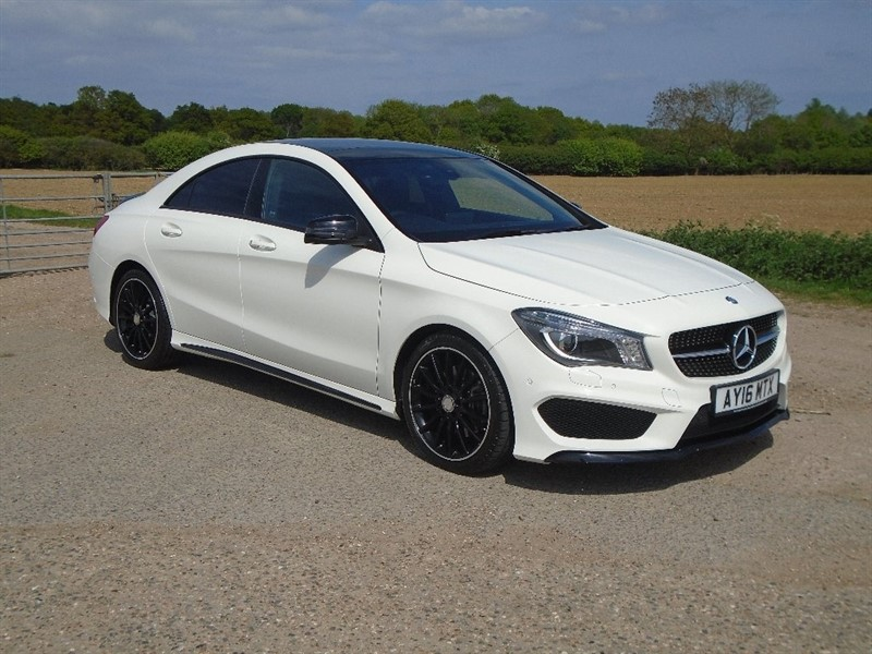 used Mercedes CLA 220 CLA Class AMG Sport 7G-DCT 4dr (start/stop) in wickham-bishops-essex