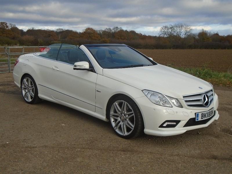 used Mercedes E350 E Class CDI BlueEFFICIENCY Sport 2dr in wickham-bishops-essex