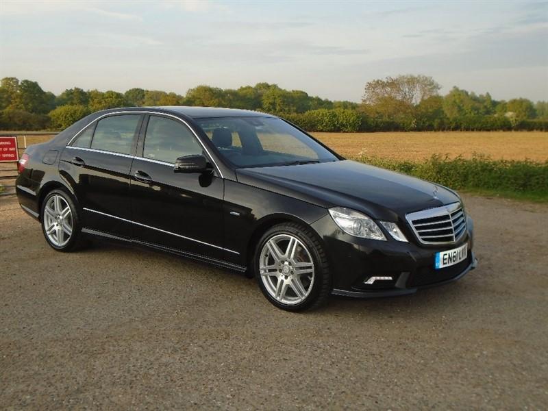 used Mercedes E350 E Class CDI Sport 4dr in wickham-bishops-essex