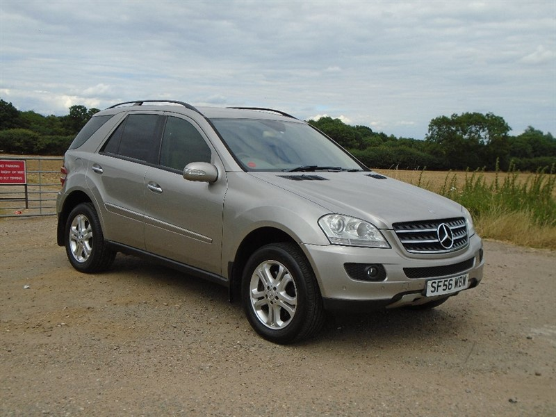 used Mercedes ML320 M Class CDI SE 7G-Tronic 5dr in wickham-bishops-essex