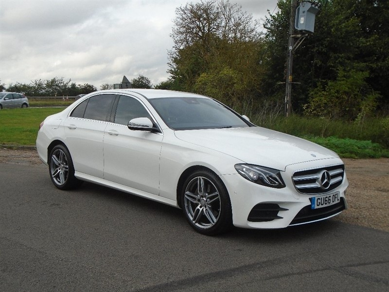 used Mercedes  E Class E220d AMG Line 9G-Tronic 4dr (start/stop) in wickham-bishops-essex