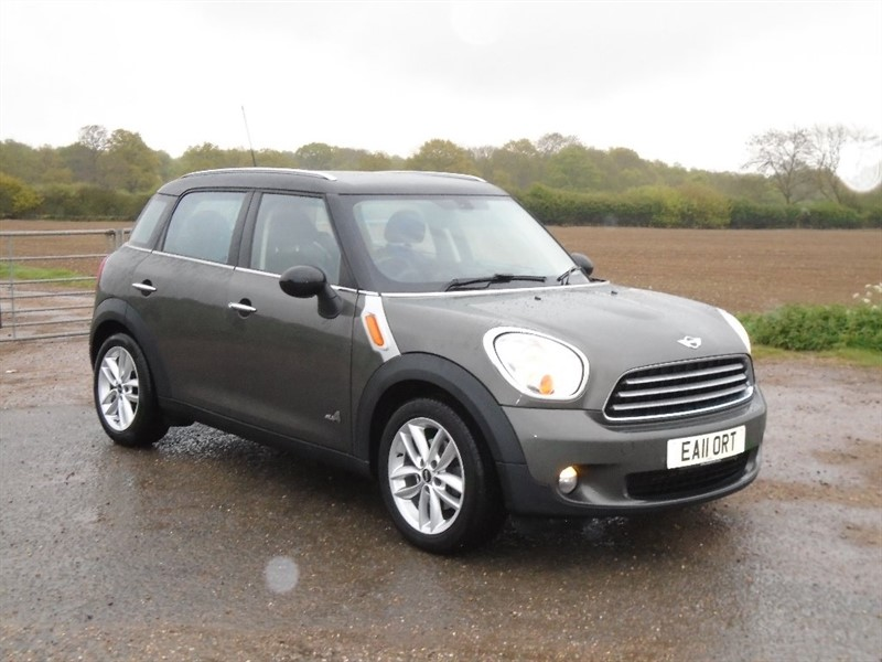 used MINI Countryman Cooper D (Chili pack) ALL4 5dr in wickham-bishops-essex