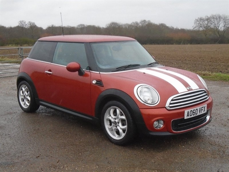 used MINI Hatch One (Pepper) 3dr in wickham-bishops-essex