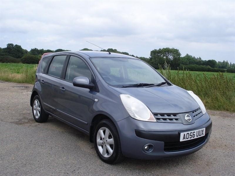 used Nissan Note 16v SE 5dr in wickham-bishops-essex