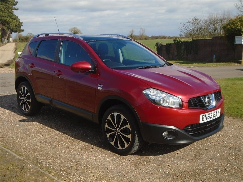 used Nissan Qashqai dCi N-TEC+ 2WD (s/s) 5dr in wickham-bishops-essex
