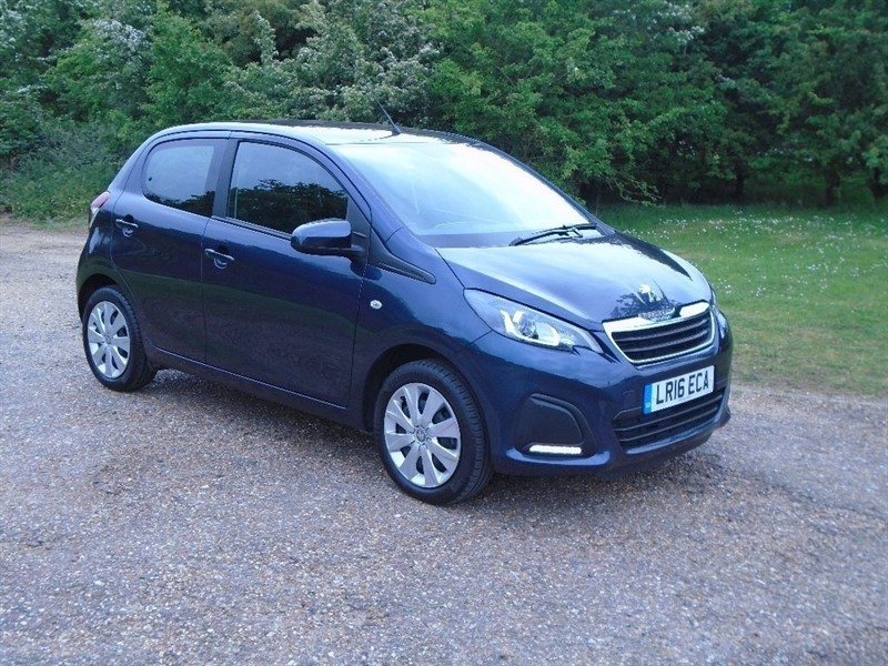 used Peugeot 108 Active 5dr in wickham-bishops-essex