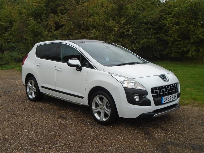 used Peugeot 3008 e-HDi FAP Allure SUV EGC 5dr in wickham-bishops-essex