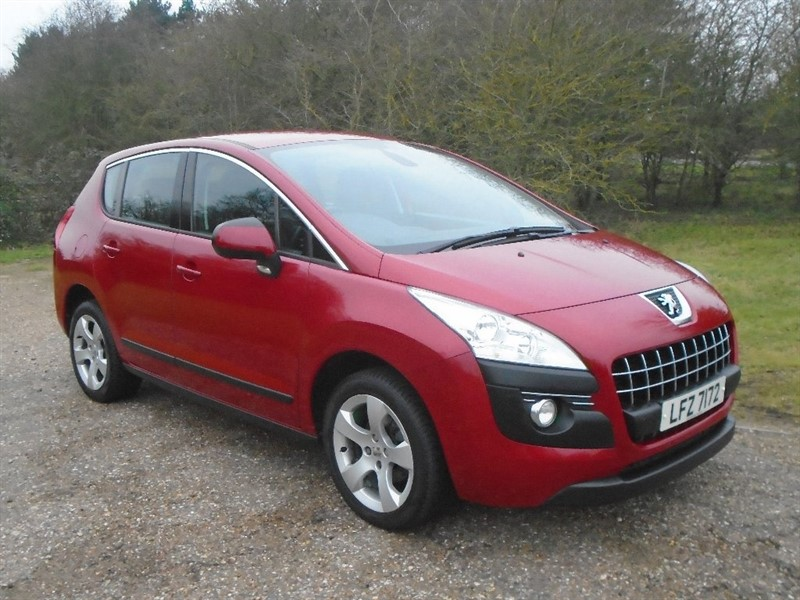 used Peugeot 3008 HDi Active 5dr in wickham-bishops-essex