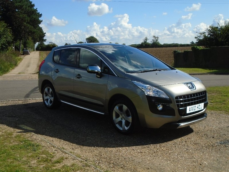 used Peugeot 3008 HDi FAP Exclusive SUV EGC 5dr in wickham-bishops-essex