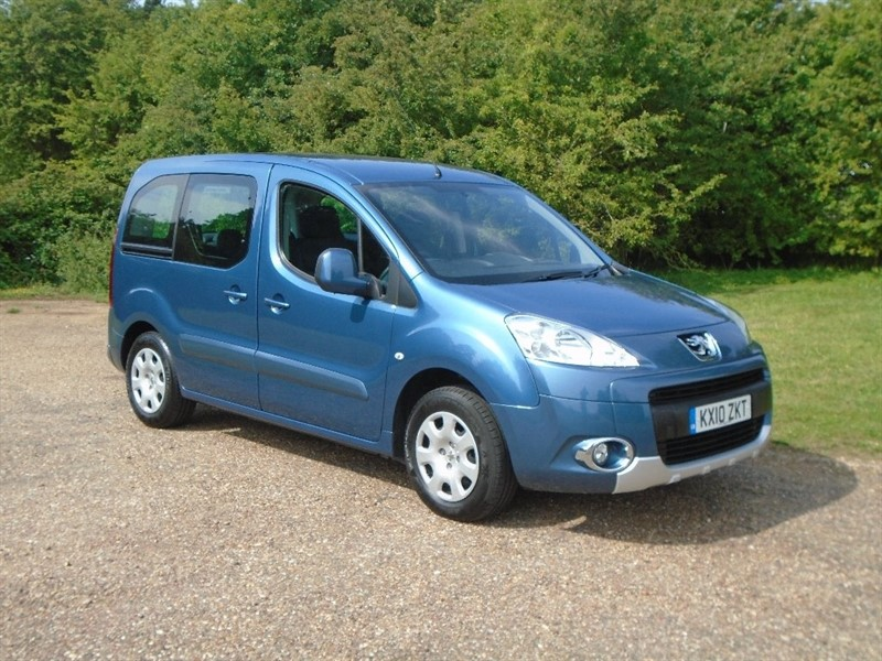 used Peugeot Partner Tepee HDi Tepee S 5dr in wickham-bishops-essex