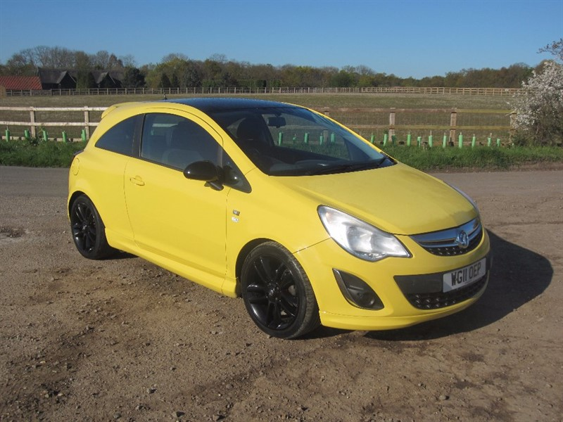 used Vauxhall Corsa 1.2 i 16v Limited Edition 3dr (a/c) in wickham-bishops-essex
