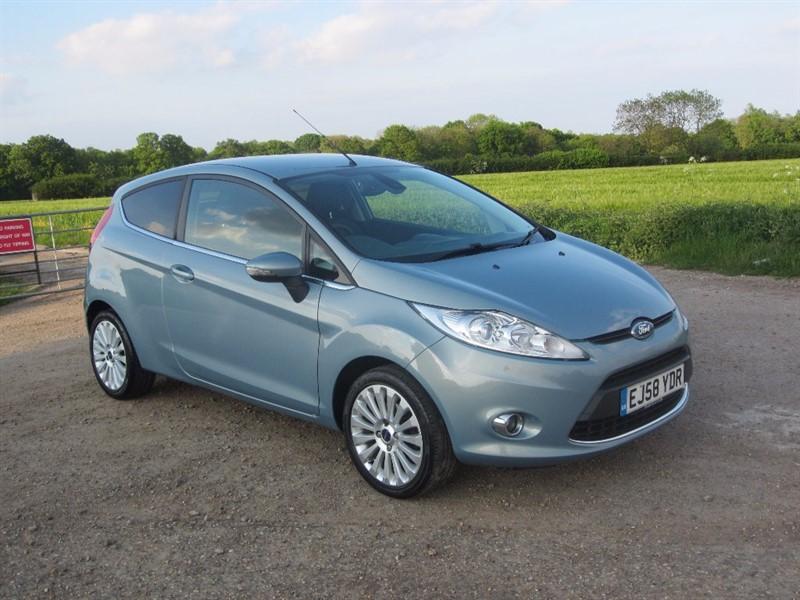 used Ford Fiesta Titanium 3dr in wickham-bishops-essex