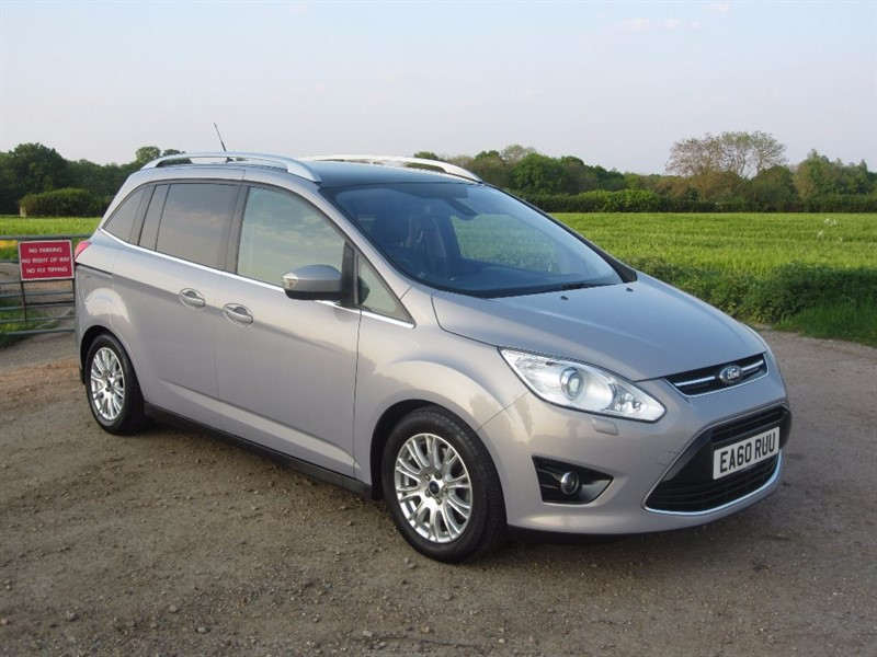 used Ford Grand C-Max TDCi Titanium 5dr (7 Seats) in wickham-bishops-essex