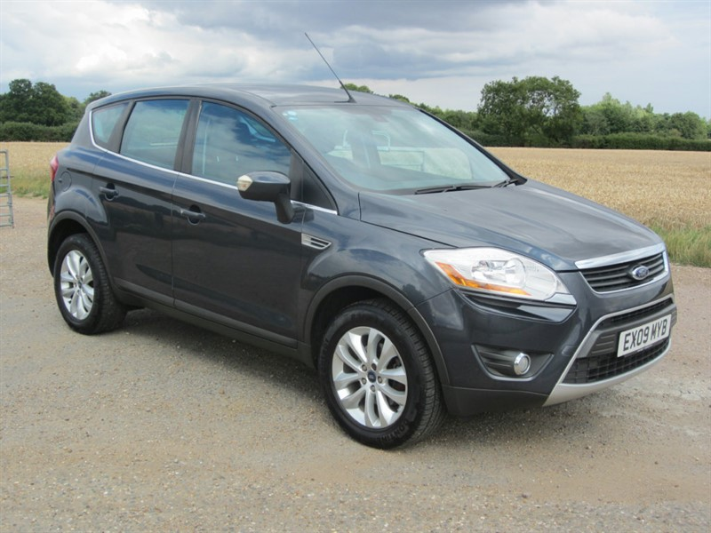 used Ford Kuga TDCi Titanium 4x4 5dr in wickham-bishops-essex