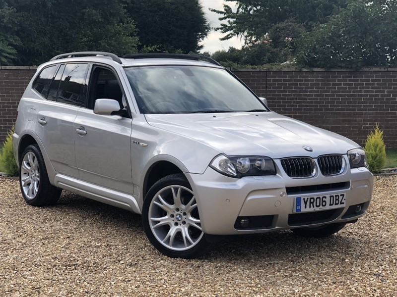 used BMW X3 D M SPORT + PANORAMIC ROOF + HEATED LEATHER SEATS in south-yorkshire