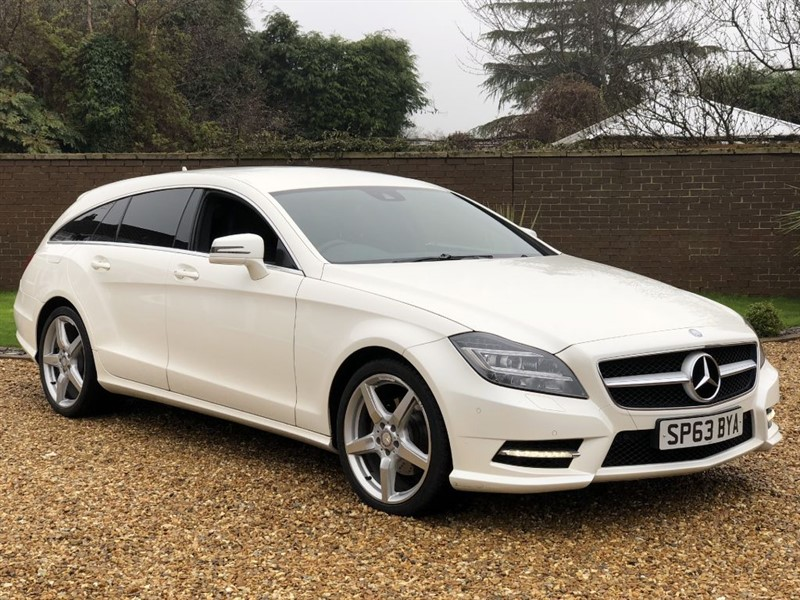 used Mercedes CLS CLS250 CDI BLUEEFFICIENCY AMG SPORT + PADDLESHIFT + SAT NAV + DAB RADIO in south-yorkshire