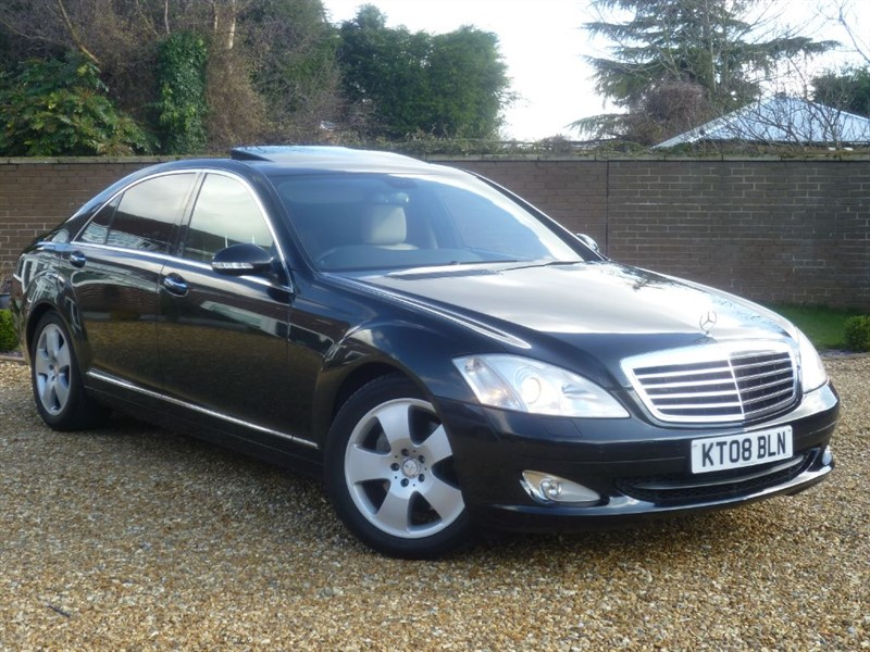 used Mercedes S320 L CDI + LONG WHEEL BASE + STUNNING COLOUR COMBO!! in south-yorkshire