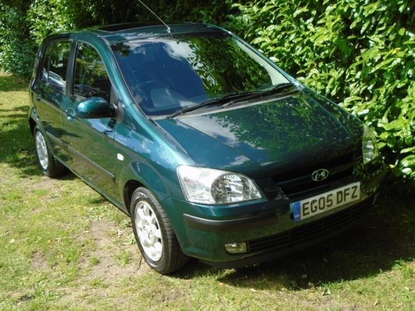 used Hyundai Getz CDX 5dr in witham-essex