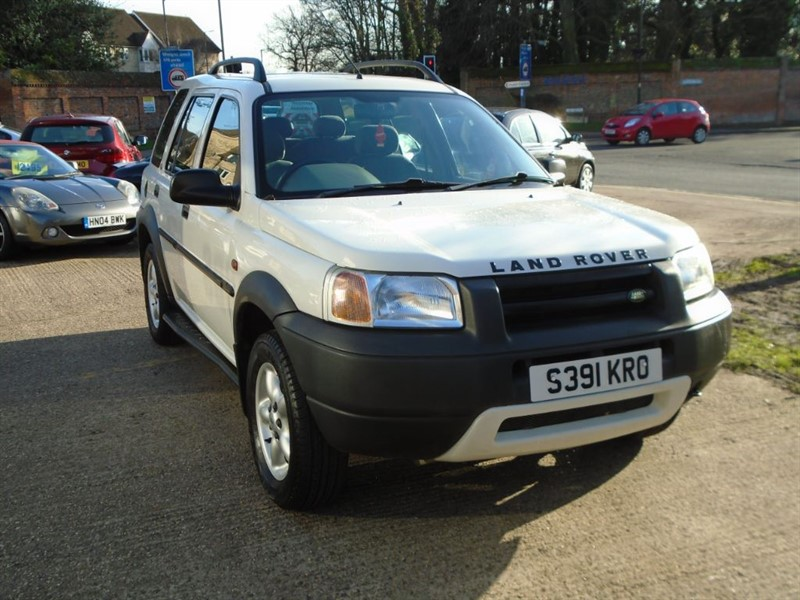 used Land Rover Freelander XEI STATION WAGON in witham-essex