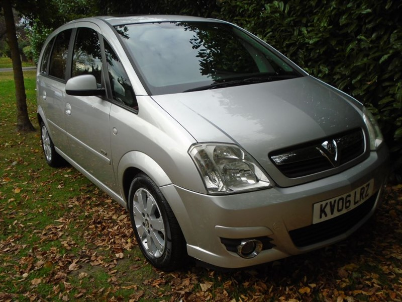 used Vauxhall Meriva DESIGN CDTI 16V in witham-essex