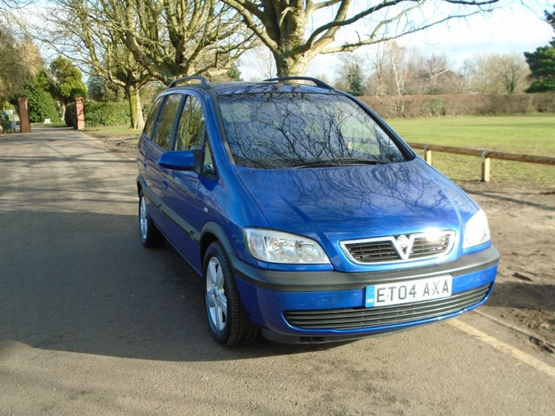 used Vauxhall Zafira ENERGY DTI 16V in witham-essex