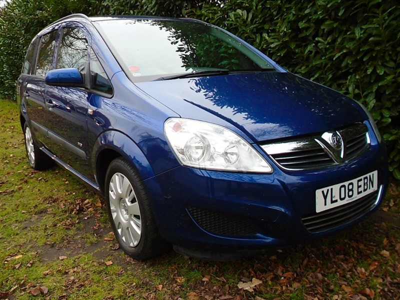 used Vauxhall Zafira LIFE 16V in witham-essex