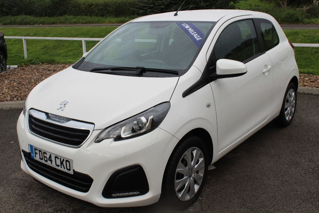 used Peugeot 108 ACTIVE in in-lowdham