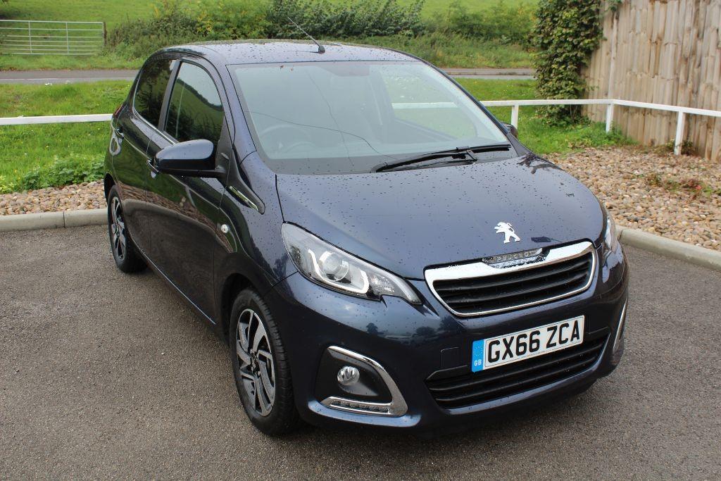 used Peugeot 108 PURETECH ALLURE in in-lowdham