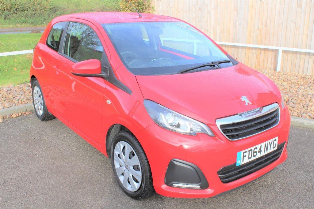 used Peugeot 108 ACTIVE in in-lowdham