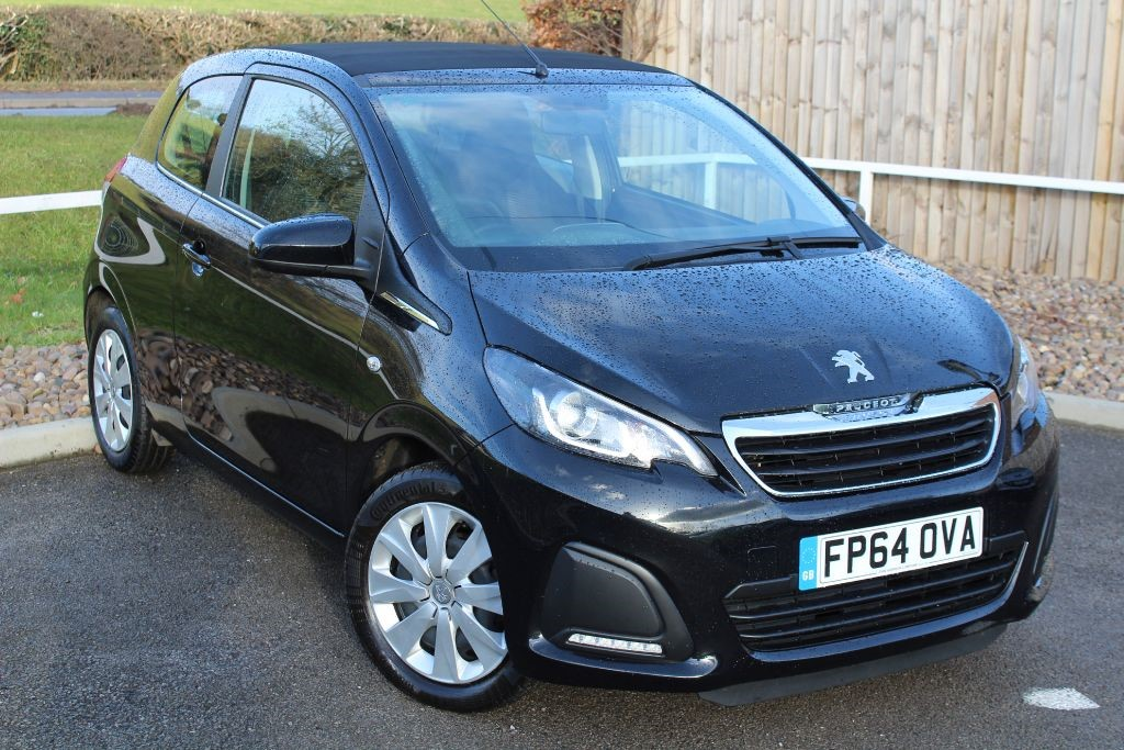 used Peugeot 108 ACTIVE TOP in in-lowdham