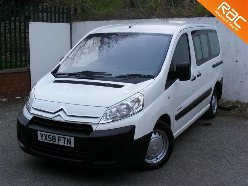 used Citroen Dispatch 1.6 HDi L1H1 Combi 5dr (6 seat) in nottinghamshire