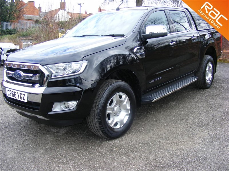 used Ford Ranger LIMITED 4X4 DCB TDCI in nottinghamshire