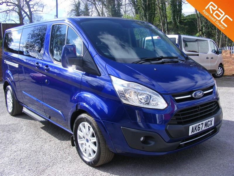 used Ford Tourneo Custom 310 TITANIUM TDCI LWB L2 9 SEATS in nottinghamshire