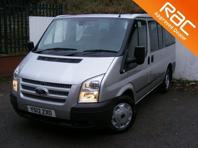 used Ford Tourneo 2.2 TDCi 280 S Tourneo Trend Low Roof Bus (9 Seats, SWB),AIRCON,QUICKCLEAR in nottinghamshire