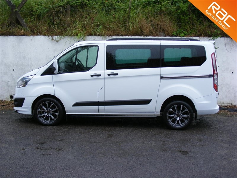 used Ford Transit Custom 310 TREND TDCI KOMBI 9 SEAT WITH STYLE PACK in nottinghamshire