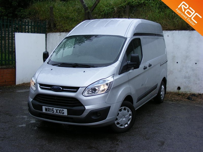 used Ford Transit Custom 310 TREND L1H2 WITH EXTRA STORAGE/RACKING in nottinghamshire
