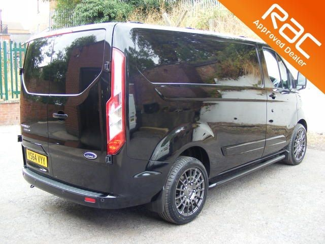 used black ford transit custom for sale nottinghamshire. Black Bedroom Furniture Sets. Home Design Ideas