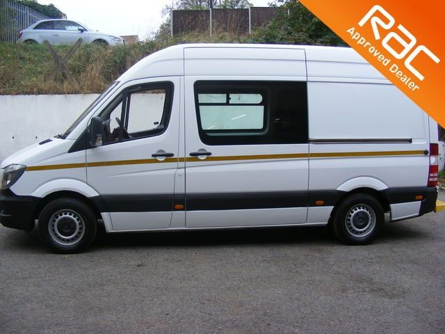 used Mercedes Sprinter 313 CDI MWB WELFARE/MESSING UNIT 8 SEATER WITH TOILET in nottinghamshire