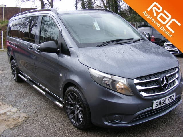 used Mercedes Vito 114 BLUETEC TOURER PRO EX LONG 9 SEAT WITH STYLE PACK in nottinghamshire