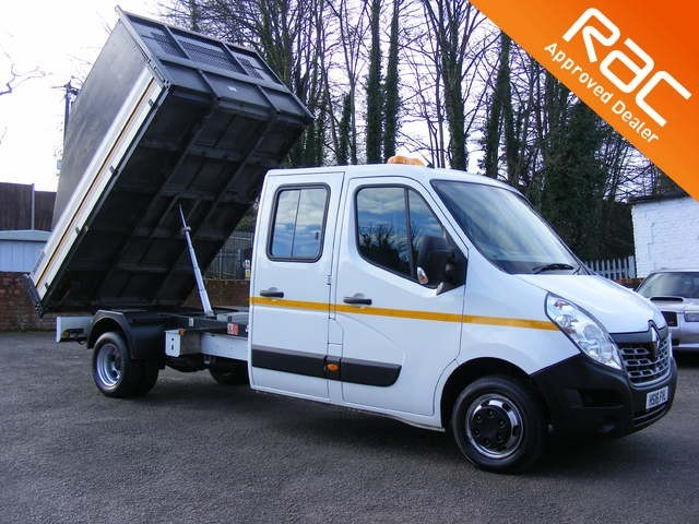 used Renault Master LL35 BUSINESS DCI L/R DCC TIPPER DRW in nottinghamshire
