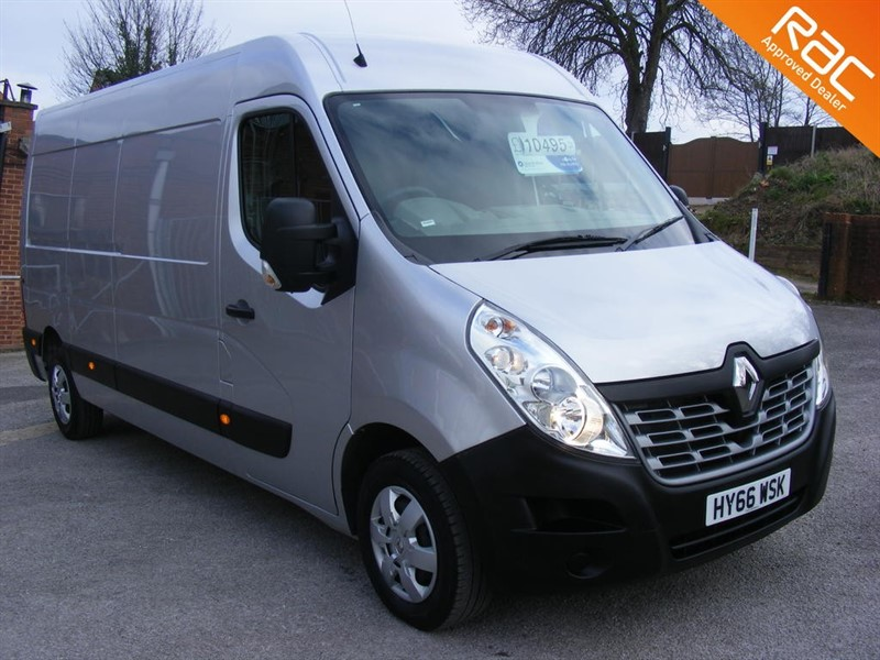 used Renault Master LM35 BUSINESS PLUS DCI S/R P/V in nottinghamshire