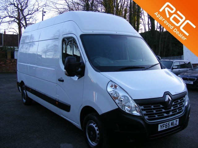 used Renault Master 2.3 dCi LH35 Business EXTRA High Roof Van (FWD) 5dr in nottinghamshire