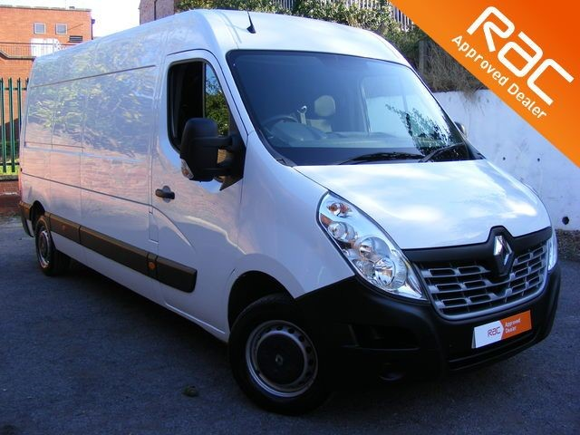 used Renault Master LM35 BUSINESS DCI S/R P/V WITH 2 REMOTE KEYS & PARKING SENSORS in nottinghamshire