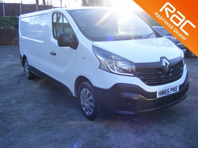 used Renault Trafic LL29 BUSINESS DCI S/R P/V in nottinghamshire