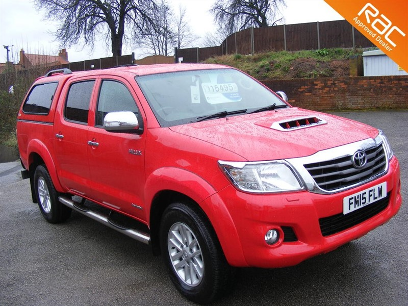 used Toyota Hilux INVINCIBLE 4X4 D-4D DCB in nottinghamshire
