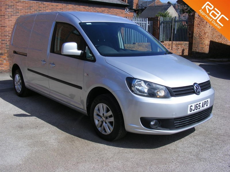 used VW Caddy Maxi C20 TDI HIGHLINE DGS AUTOMATIC NAV CRUISE AIR CON in nottinghamshire